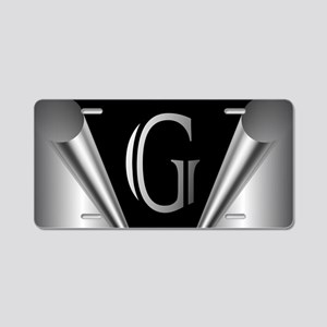 Steel Peel G Aluminum License Plate