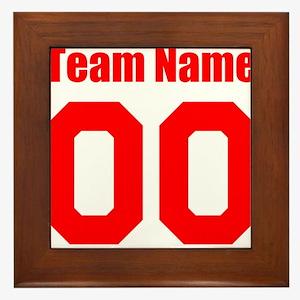 Team Framed Tile
