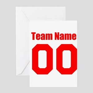Team Greeting Cards