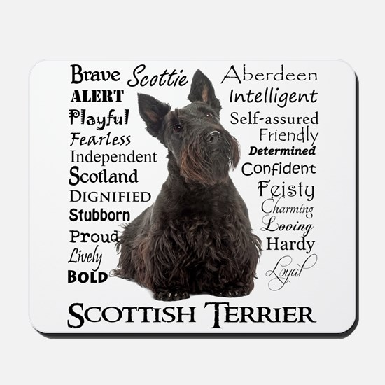 Scottie Traits Mousepad