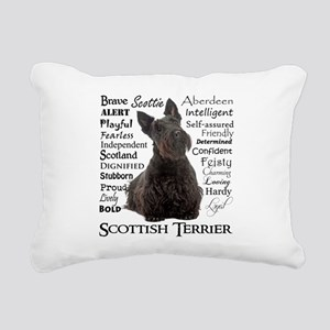 Scottie Traits Rectangular Canvas Pillow