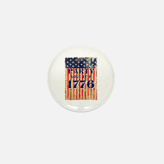 Party Like It's 1776 Mini Button