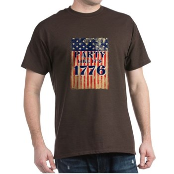 Party Like It's 1776 Dark T-Shirt