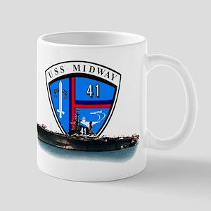 Uss Midway Cv-41 Mug Mugs