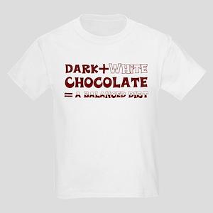 Chocolate Diet Kids Light T-Shirt