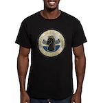 USS KOELSCH Men's Fitted T-Shirt (dark)