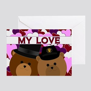 Anniversary - From Wife U. S. Army Greeting Cards