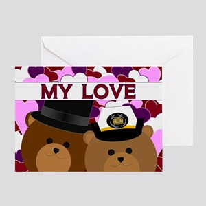 Anniversary - To Coast Guard Greeting Cards