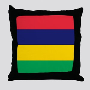 Flag of Mauritius Throw Pillow