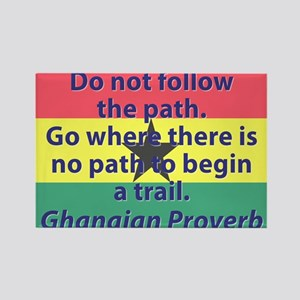 Do Not Follow The Path Magnets
