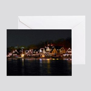Light Houses in Philly Greeting Card