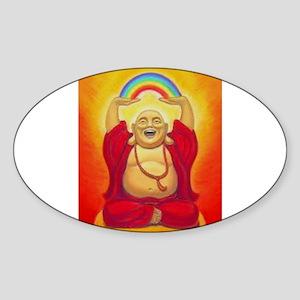 Big Happy Buddha Sticker