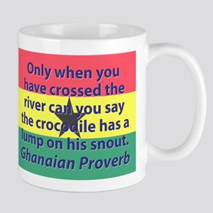 Only When You Have Crossed The River Mugs