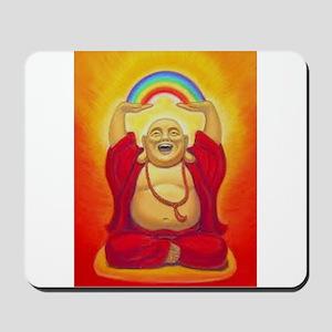 Big Happy Buddha Mousepad