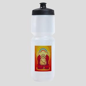 Big Happy Buddha Sports Bottle
