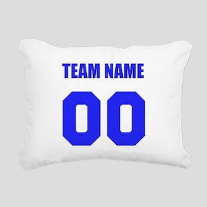 Team Rectangular Canvas Pillow