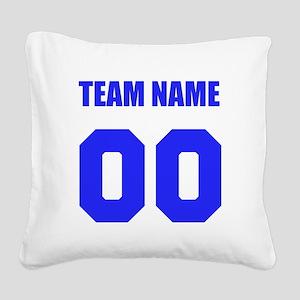 Team Square Canvas Pillow