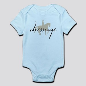 Dressage Silhouette Text Body Suit