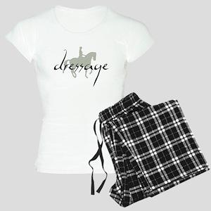 Dressage Silhouette Text Pajamas