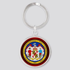 Maryland Seal Keychains