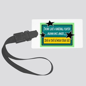 Running Bases Luggage Tag