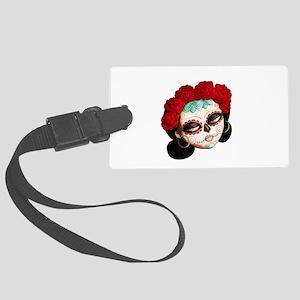El Dia de Los Muertos Girl Luggage Tag