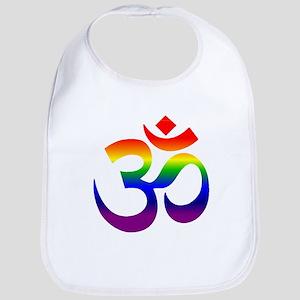 big rainbow om Bib
