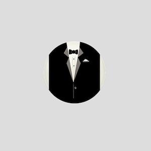 Tuxedo Art Mini Button