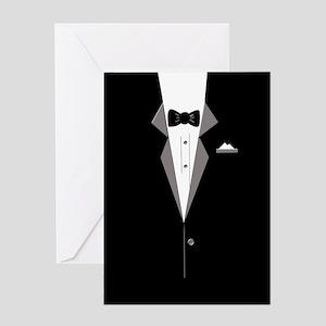 Tuxedo Art Greeting Cards