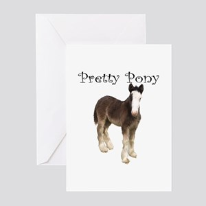 Pretty Pony Greeting Cards (Pk of 10)