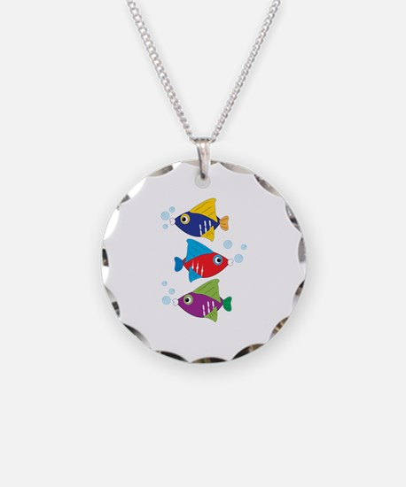 Colorful Fish Necklace