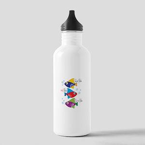 Blue Fish,Red Fish &Three Fish Water Bottle