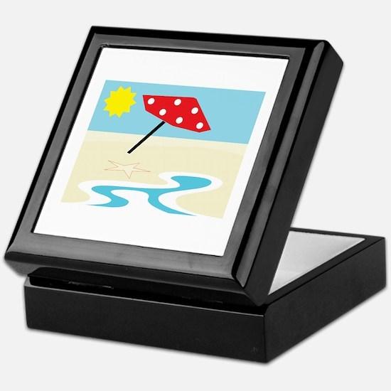 Beach Front Keepsake Box