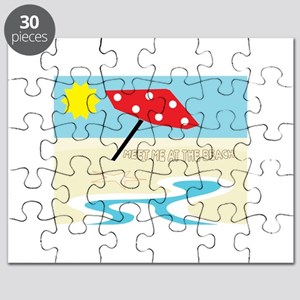 Meet Me At The Beach Puzzle