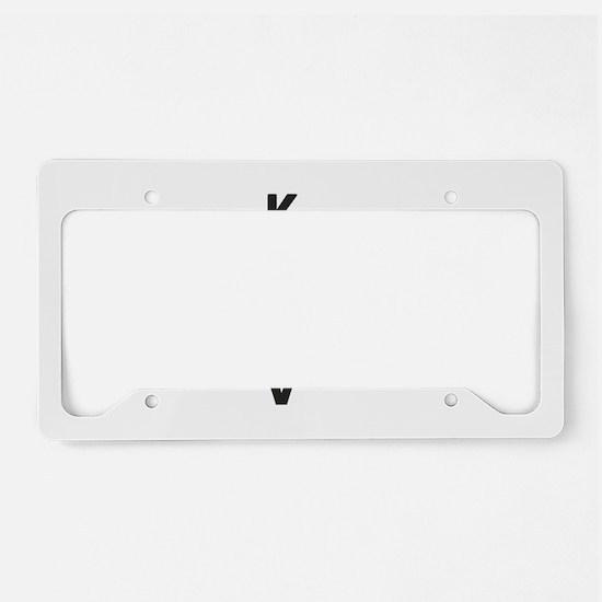 Krav Maga Jap License Plate Holder