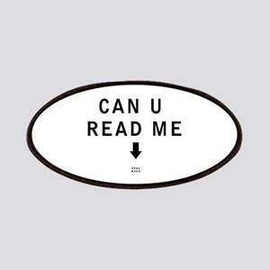 Can U Read Me - Krav Maga Patches