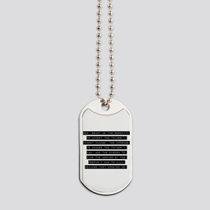 God Grant Me The Serenity Dog Tags