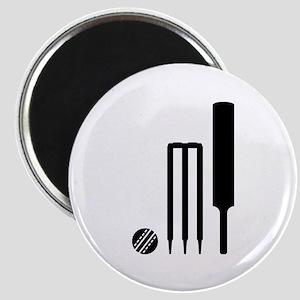 Cricket ball bat stumps Magnet