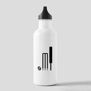 Cricket ball bat stump Stainless Water Bottle 1.0L