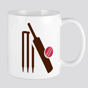 Cricket bat stumps Mug