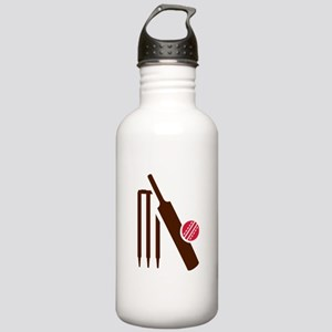 Cricket bat stumps Stainless Water Bottle 1.0L