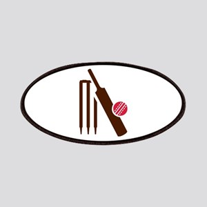 Cricket bat stumps Patches