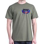 USAF Heart Flag Dark T-Shirt
