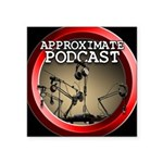 Approximate Podcast Logo Sticker