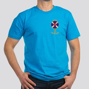 Saltire Golf Scotland Men's Fitted T-Shirt (dark)