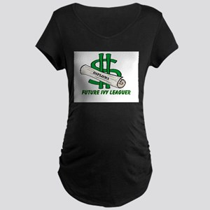 Future Ivy Leaguer Maternity Dark T-Shirt
