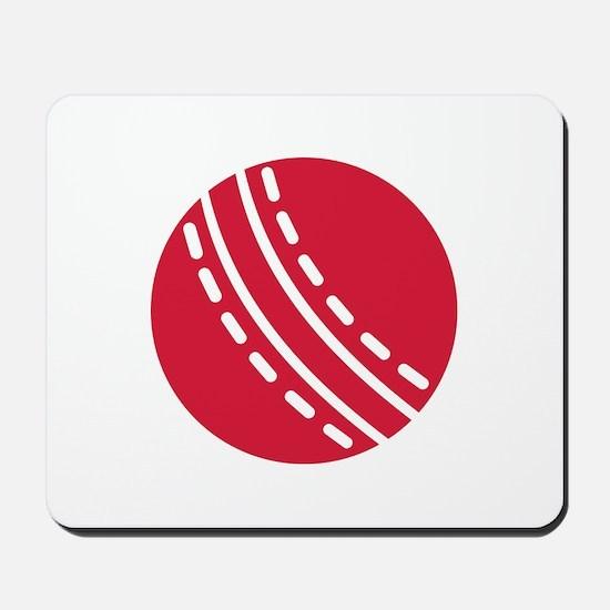 Cricket ball Mousepad