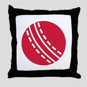 Cricket ball Throw Pillow