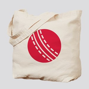 Cricket ball Tote Bag