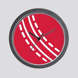 Cricket ball Wall Clock